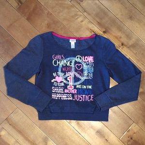 🔥Sale🔥Justice Girls Sweater Size 12
